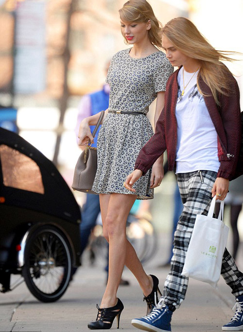 Taylor Swift and Cara Delevingne images