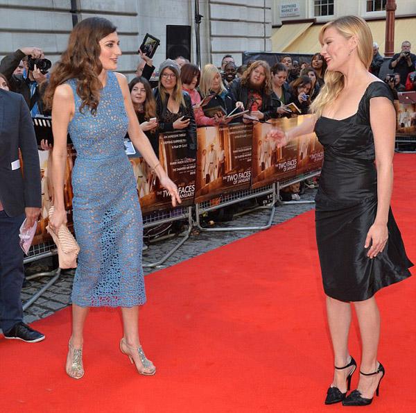 Daisy Bevan and Kirsten Dunst