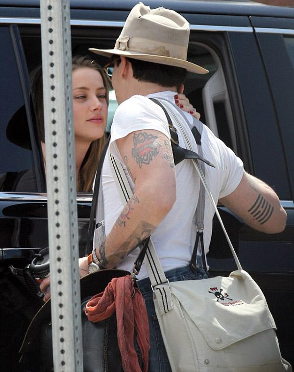 Johnny Depp and Amber Heard photos