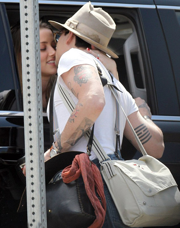 Johnny Depp and  Amber Heard images