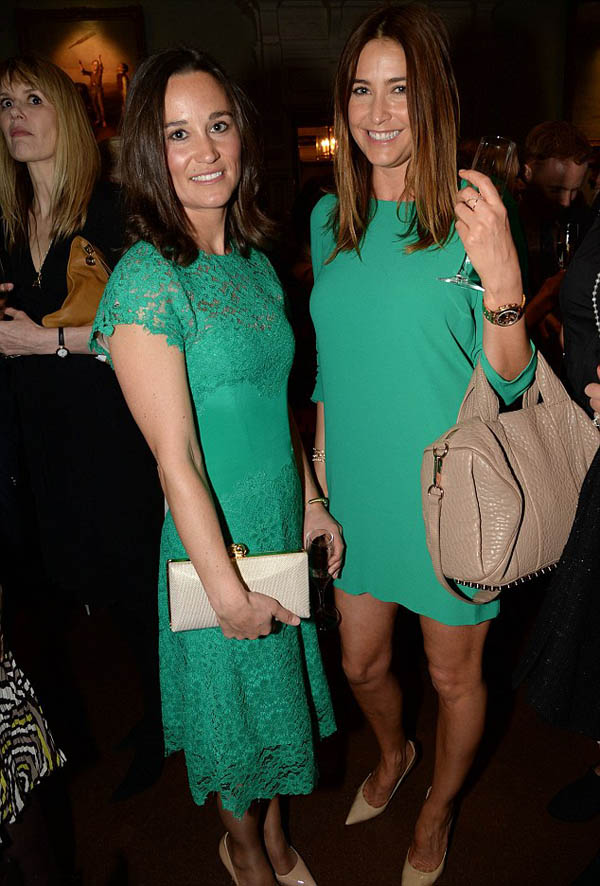 Pippa Middleton and Lisa Snowdon images