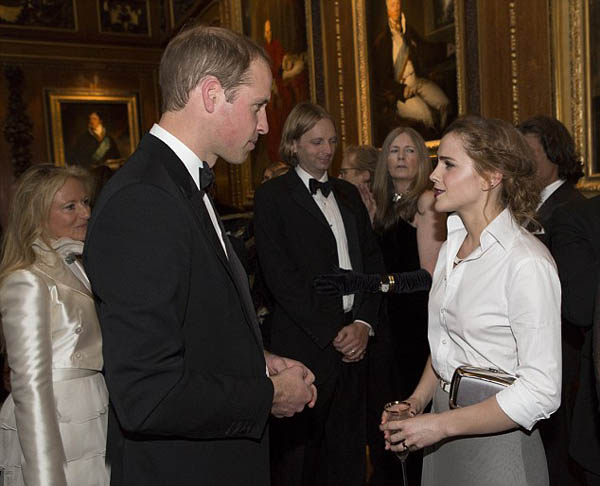 Prince William and Emma