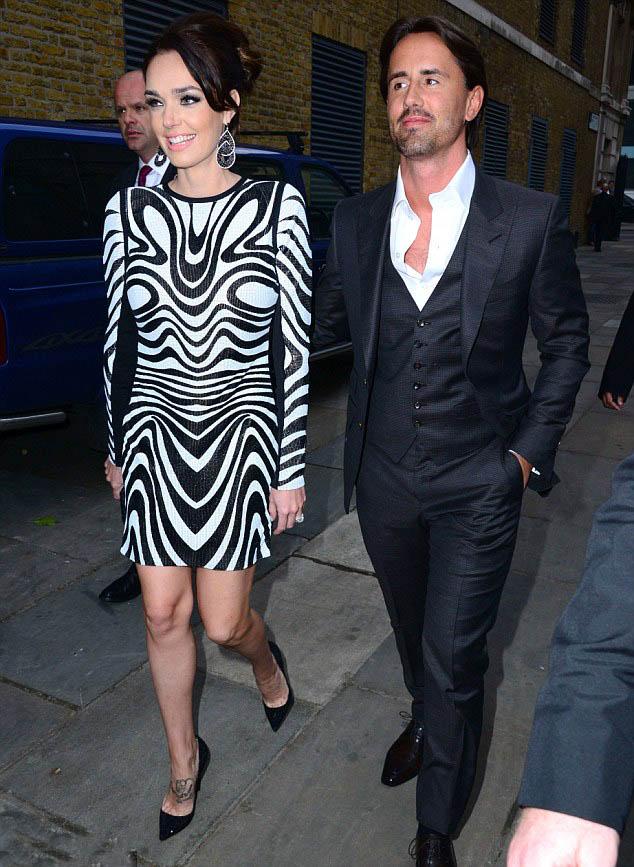 Tamara Ecclestone and  Jay Rutland,