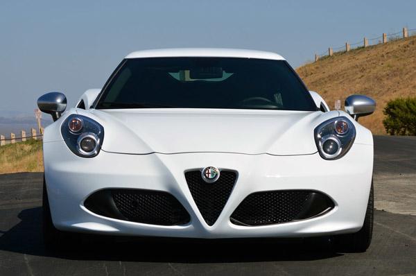 2015 Alfa Romeo 4C Car