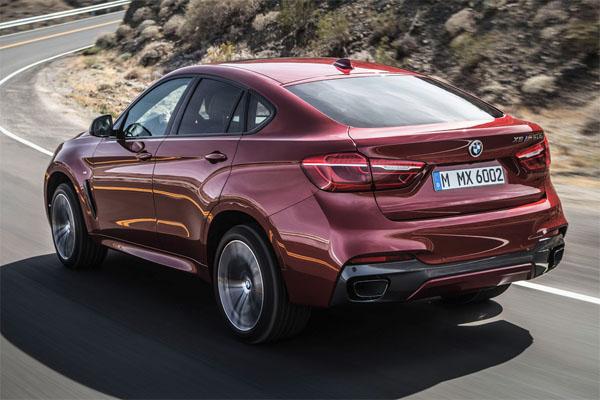 BMW 6X car