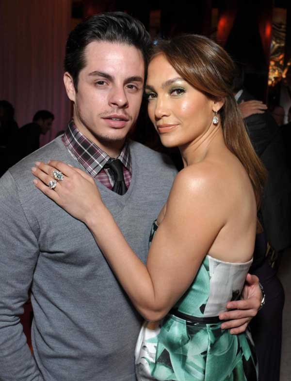 Casper Smart and Jennifer