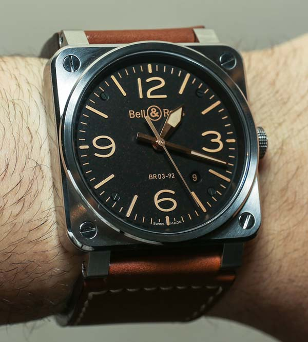 Bell Ross Golden watch