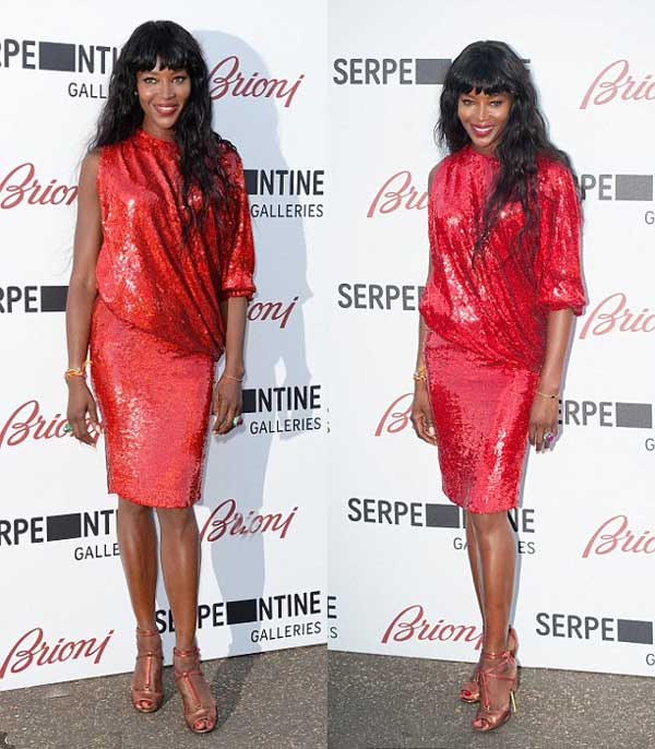 Naomi Campbell style