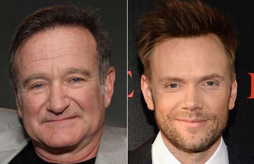 Robin Williams and Joel McHale