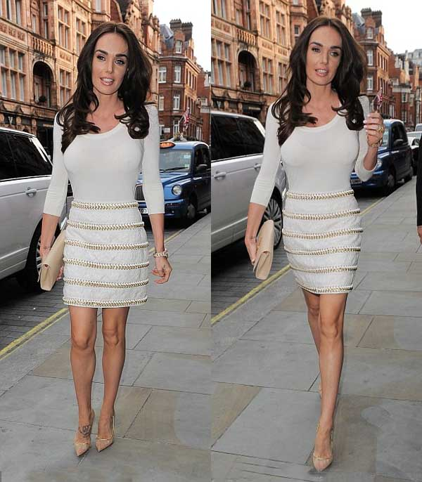 Tamara Ecclestone dress