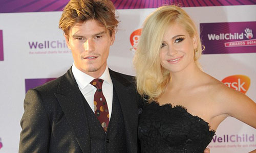 Pixie Lott with Oliver Cheshire