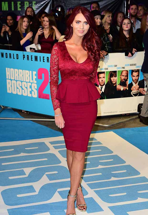 Amy_Childs_red_lace_peplum_dress_Horrible_Bosses_2_2