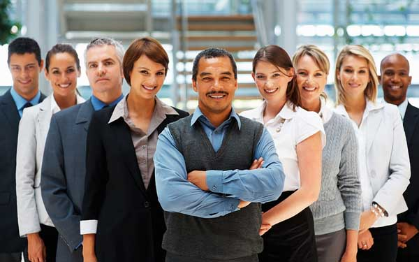 Businessman_Backed_By_His_Team_