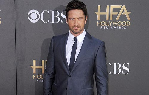Gerard Butler in Los Angeles