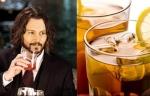 Johnny Depp Celebrities Favorite Drinks