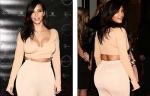 Kim Kardashian after fully nude shoot