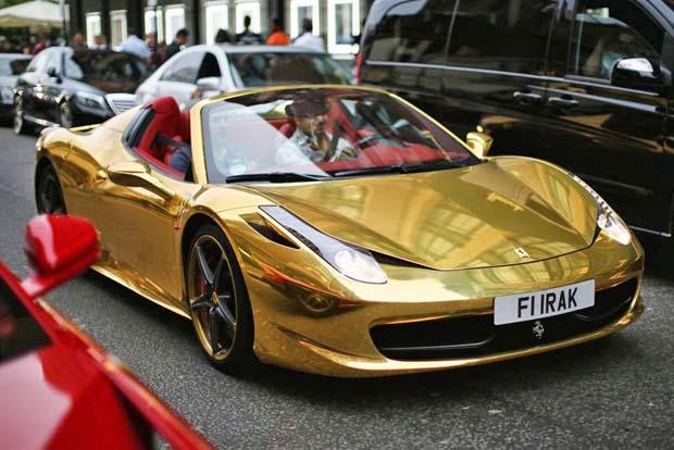 ferrari-458-gold