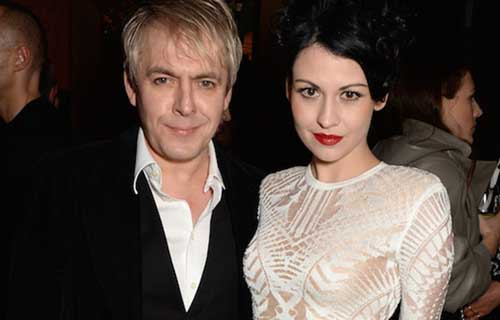 Nick Rhodes with Maria Suvio
