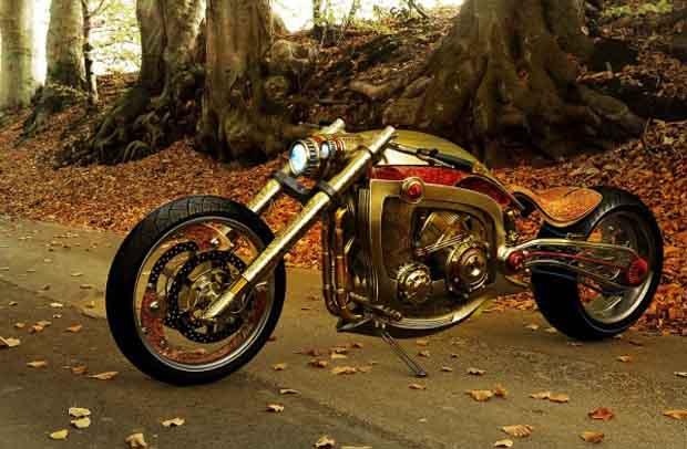 Gold_Plated_Custom_Chopper