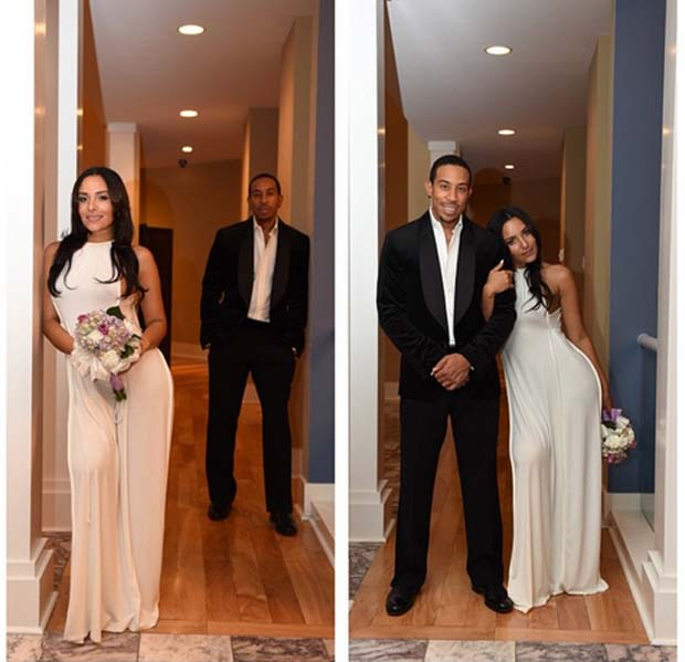 Ludacris_Marries_and_Eudoxie_Mbouguiengue_3