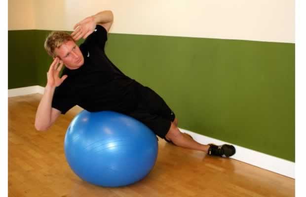 Home Exercise Ball