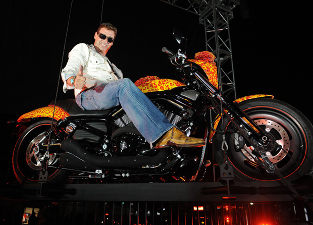 US-ART-MOTORBIKE-HARLEY DAVISON-ARMSTRONG- ONE MILLION