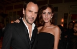 Tom Ford and Alexa Chung at Party for Noir Extreme