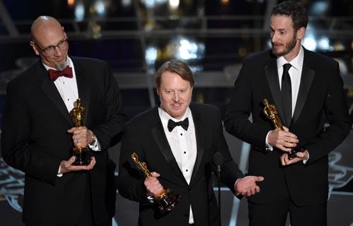 Big Hero 6 Oscar winner