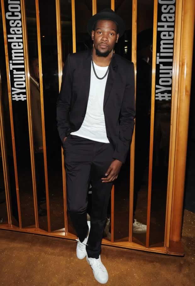Fashion style of Kevin Durant