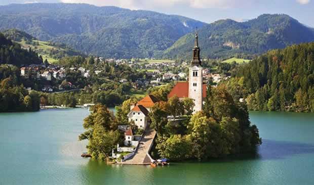 Small European Bled Slovenia