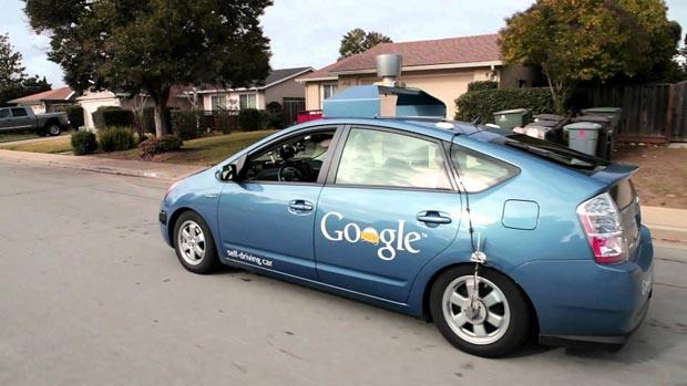 Google Self-Driving Future Car