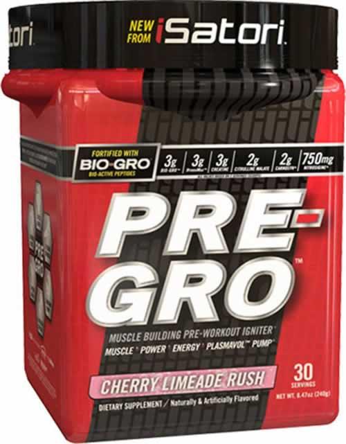 Isatori Pre-Gro – Muscle Growth PWO
