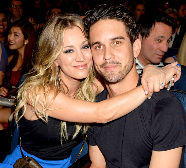 Kaley Cuoco with Ryan Sweeting