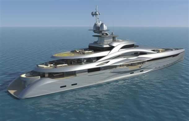 Project Mars Yacht