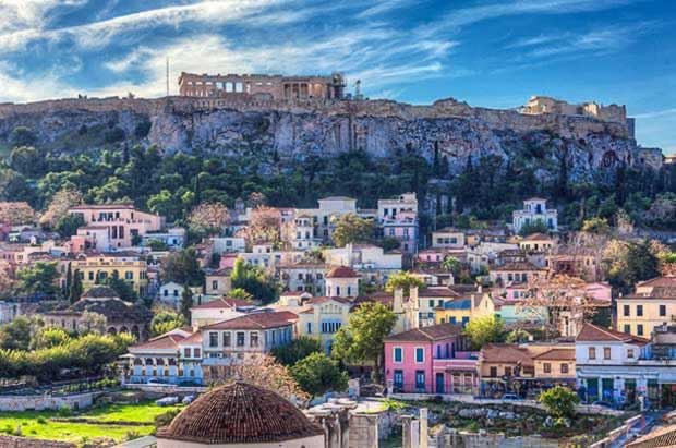 Athens top european city