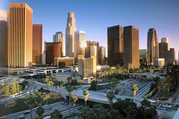 Los Angeles top city
