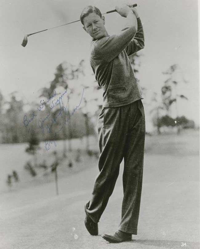 Byron Nelson Golfer