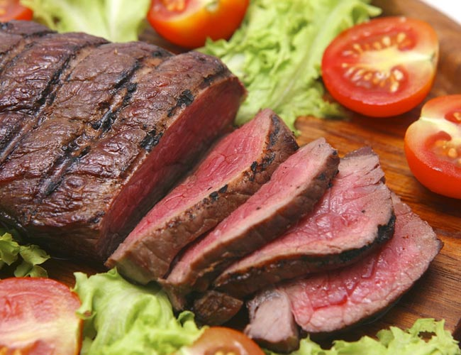 Lean Red Meat for Men health