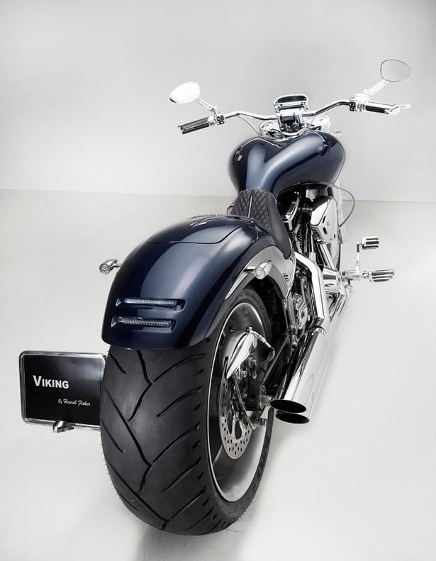 Viking chopper designed by the renowned Henrik Fisker