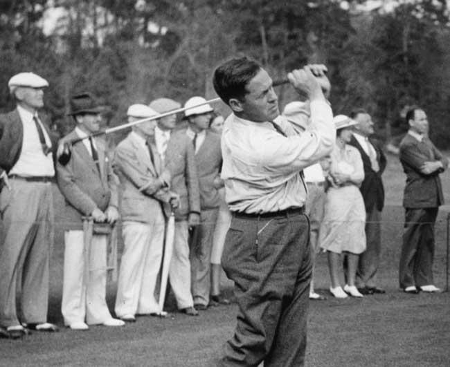 Bobby Jones Golf Player