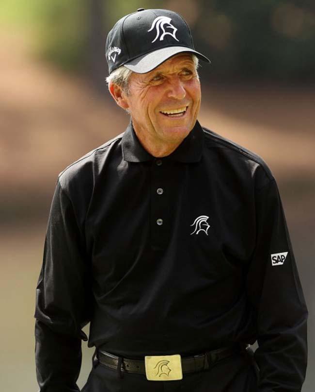 Top Golf Player Gary Player