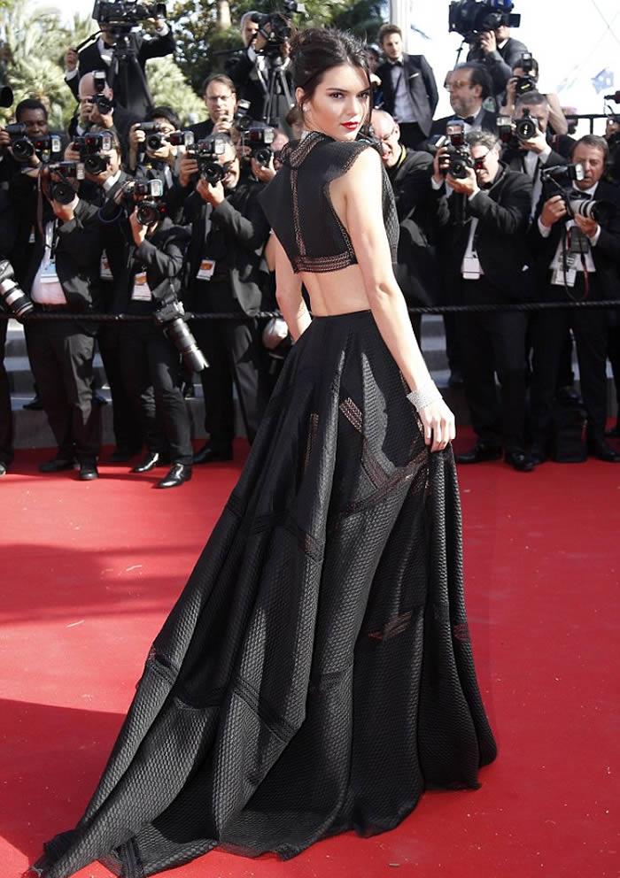 Kendall Jenner Blick Maxi Skirt