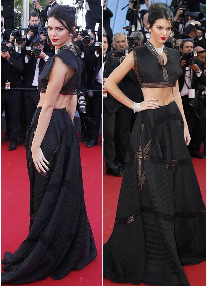 Kendall Jenner Maxi Skirt