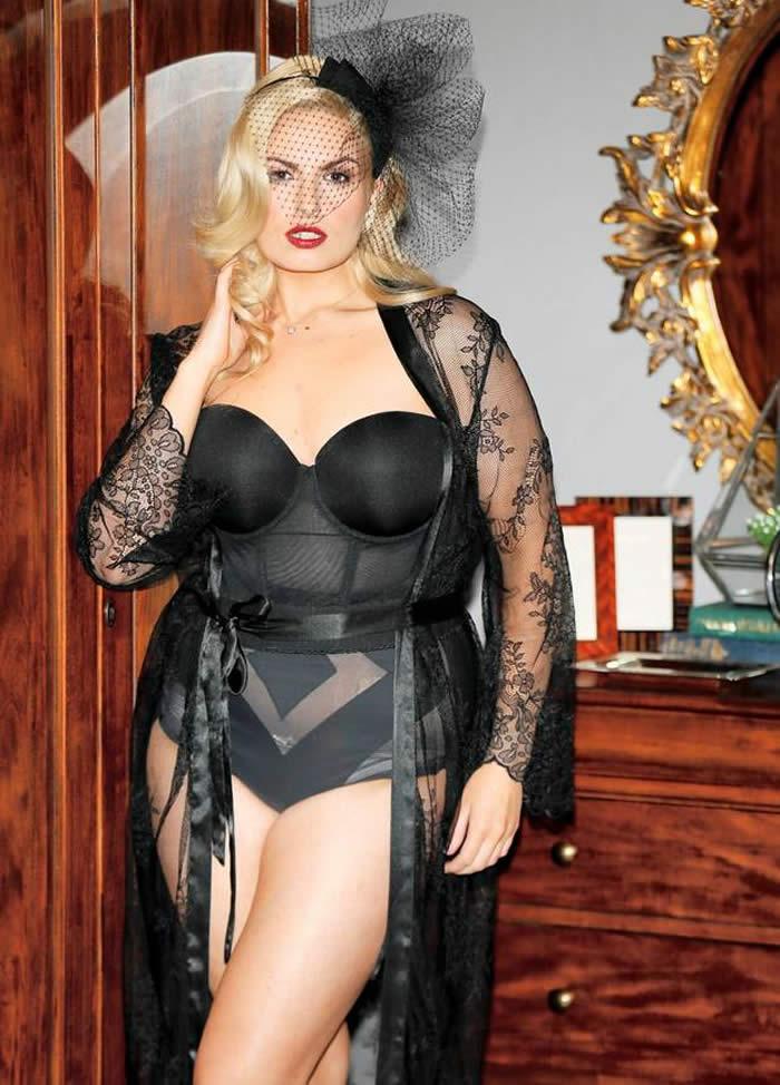Louise O'Reilly Black Bikini