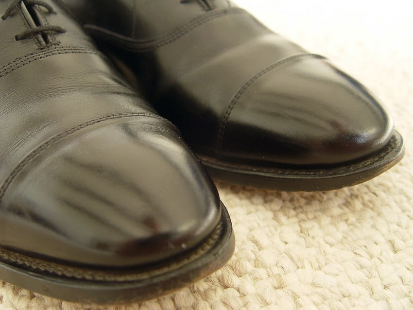 Clean those leather shoes with Olive oil