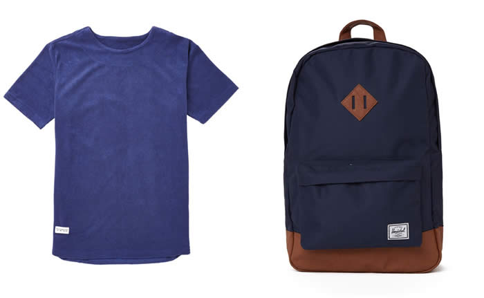 Heritage Backpack – Navy