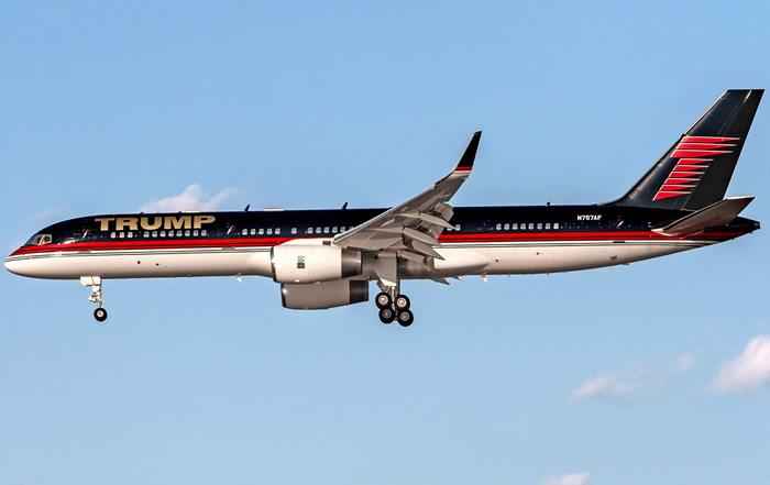 Trump's Boeing 757