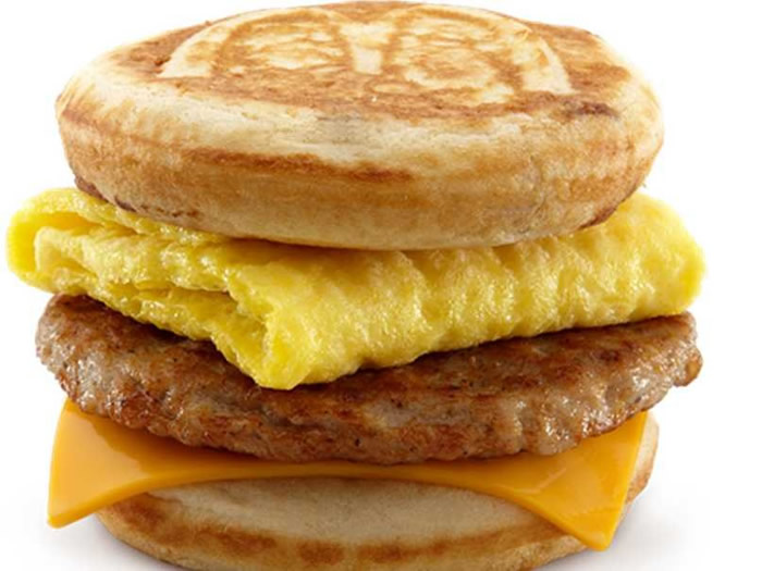 McDonald' breakfast foods