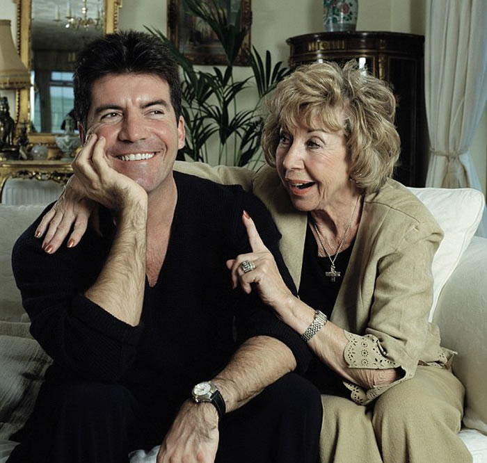 Simon Cowell as mother Julie passes away