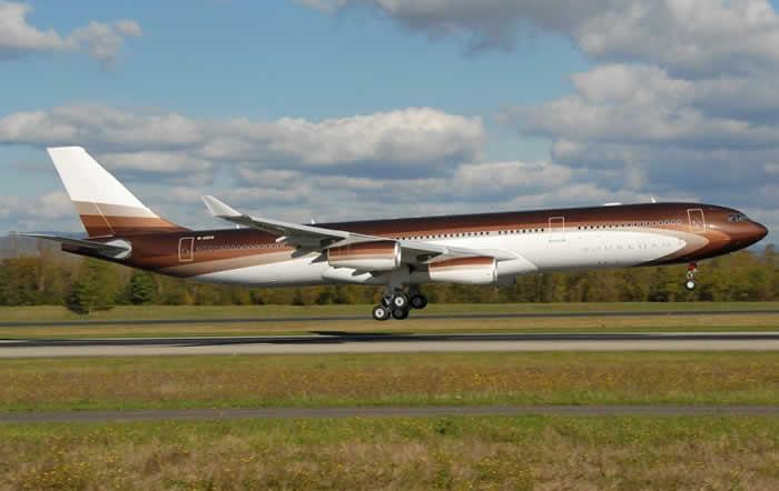 Airbus A340-300 worth $350-500 Million